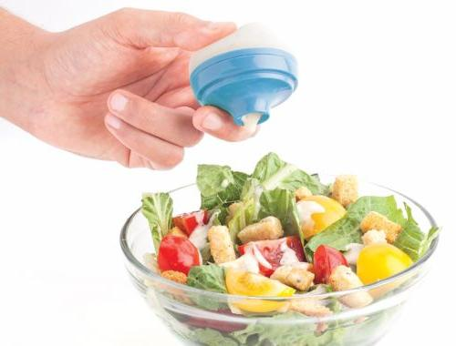 salad dressing to go leak proof container