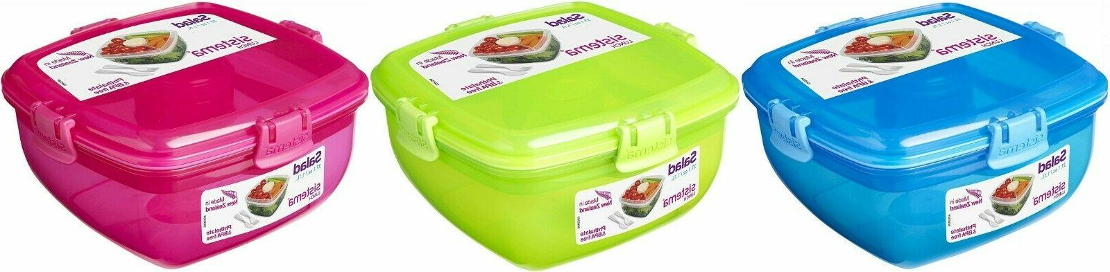 salad food lunch storage box container meal