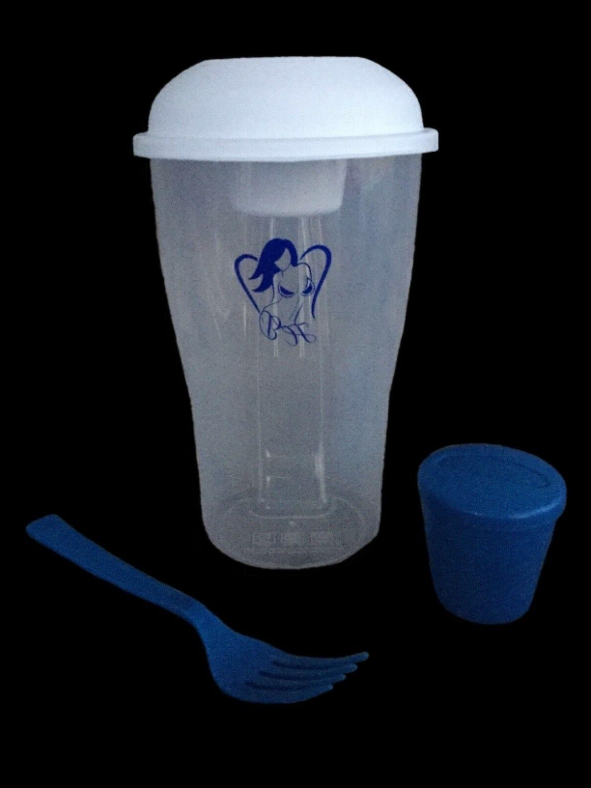 "HEAVENLY BODEES ""SALAD TO-GO CONTAINER"" & Cup"