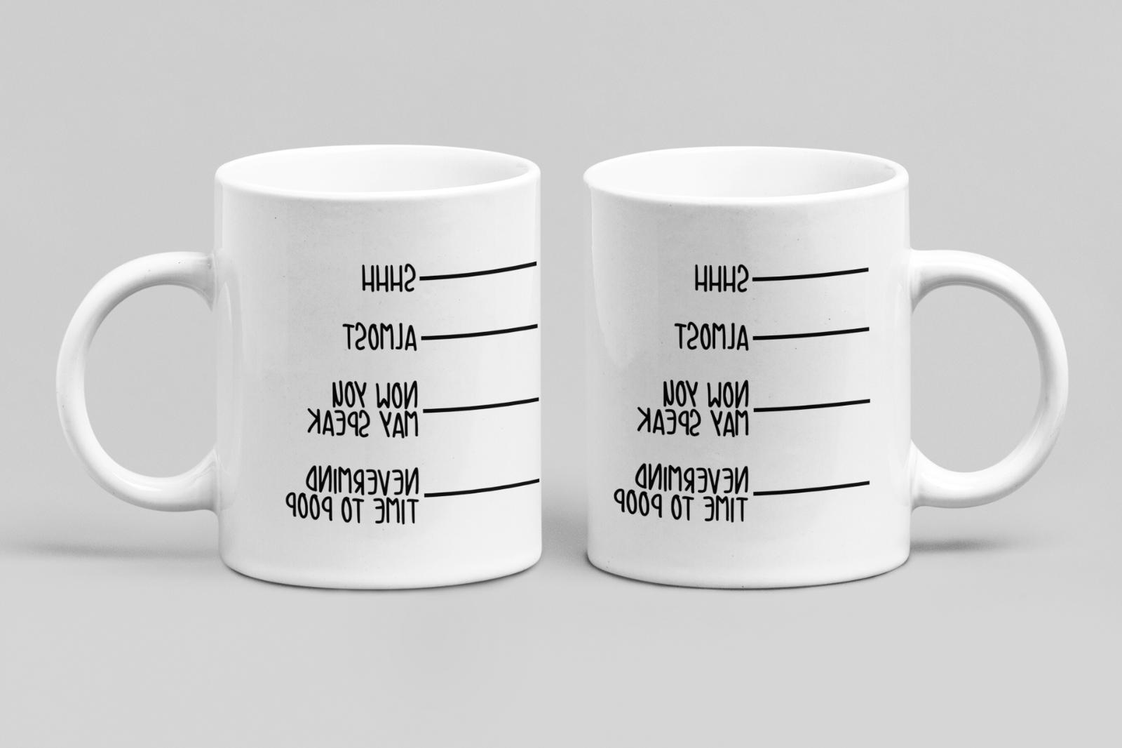 Shhh Almost May Have Go Funny 11 Mug