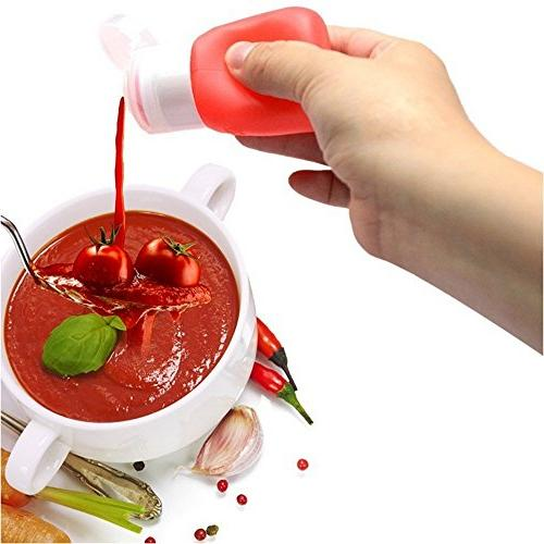 YINGGG Squeeze Salad Dressing Sauce Condiment 4