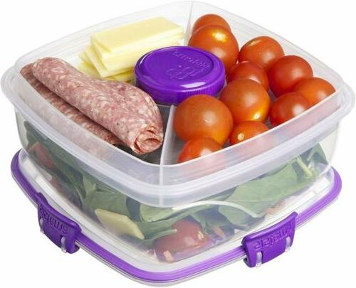 Sistema Go Salad Food Storage Container, 37 oz./1 Colors