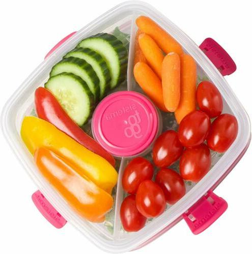 Sistema To Lunch Salad Container, 37 L, Colors