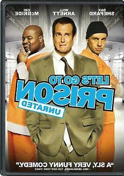 Let's Go to Prison DVD Dax Shepard NEW