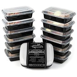 Heim Concept 12-PC Premium Meal Prep Food Containers with Im