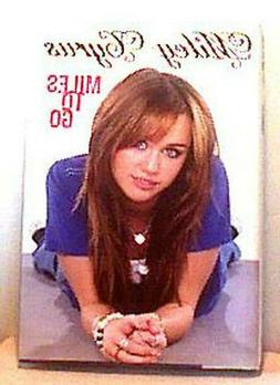 MILEY CYRUS ~ MILES TO GO ~ 2009 ~ FIRST PB ED 1st Pr SC  Fi
