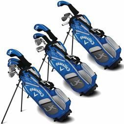 New 2018 Callaway XJ Juniors Golf Package Set - Choose 4, 6,