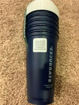 NEW Starbucks Reusable 5 Pack Travel Cup Tumbler w/Lid Navy