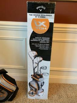 New Callaway XJ Hot Boys Junior Golf Club Complete Set Right