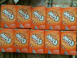 Orange  CRUSH DRINK TO GO ON THE GO SINGLES BOXES 10 Only  S