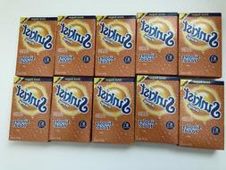 Sunkist ORANGE Singles To Go Drink Mix Zero Sugar 10 Boxes