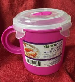 Quick To Go 23.5 Oz Soup Cup Mug Food Container BPA Free Mic