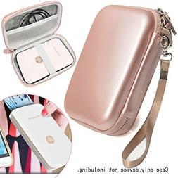 Rose Gold Carrying and Storage Case Travel Bag for HP Sprock