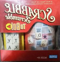 Scrabble Scramble To Go Travel Game - Parker Brothers - 2006
