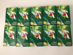 7UP Singles To Go Drink Mix Sugar Free 10 boxes  NEW LEMON L