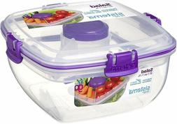 to go lunch salad food storage container
