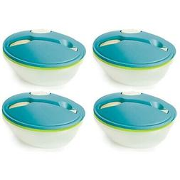 to go salad bowl container w bowl