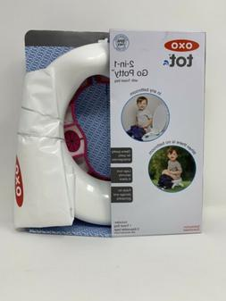 OXO Tot 2-in-1 Go Potty for Travel Pink Baby To Go Potty