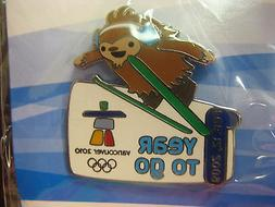 Vancouver 2010 Olympics - Quatchi 1 Year To Go Pin