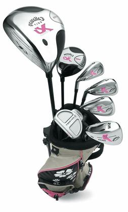 Callaway XJ Junior 11-Piece Girl's Golf Club Set